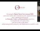 UCCM - de un deceniu parte a comunității internaționale cu peste 900 de universități din întreaga lume - își confirmă adeziunea semnării noii versiuni a Magna Charta Universitatum