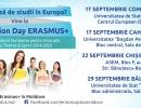"""Erasmus+ Moldova lansează campania națională pentru studenți  """"Information Day"""""""