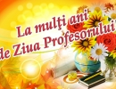 La Mulți Ani, drag PROFESOR!!!