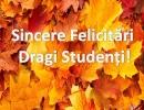Stimaţi Studenţi!!!